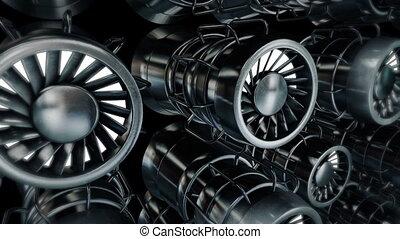 Engine - Dinamic engine animation.