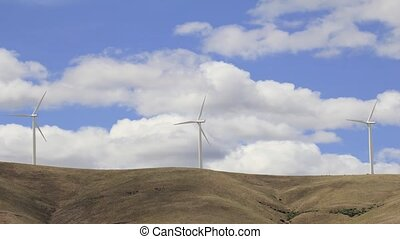 Wind Turbines in Goldendale, WA - Wind Turbines Converting...