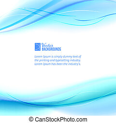 Blue abstract design Vector illustration, contains...