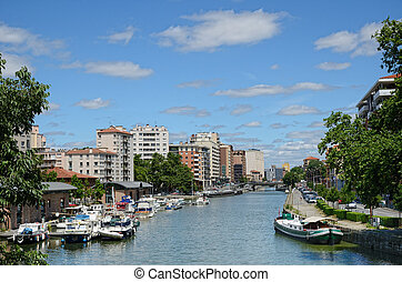 Summer view of Toulouse - The city Toulouse is traversed by...