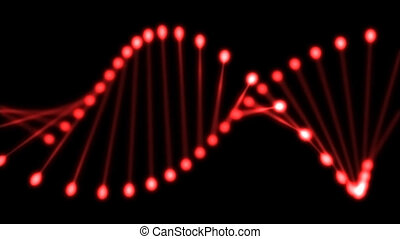 DNA - Abstract animation of DNA