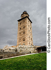 Hercules tower from Corunna, Spain