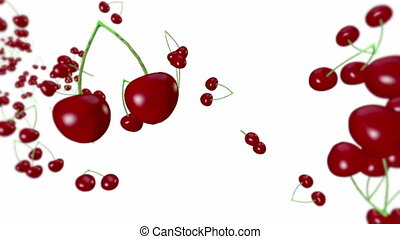 Cherries. - Loopable animation of cherries.
