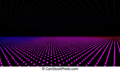 Disco lights, vj clip