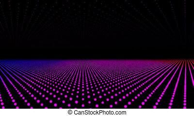 Disco lights, vj clip