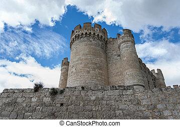 Penafiel Castle, Valladolid Spain - Exterior from Penafiel...