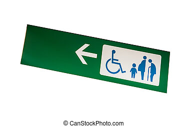 Special only sign - Disabled, Child, Pregnant, Grandsire the...