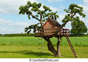 Beautiful creative tree house - Beautiful creative handmade...