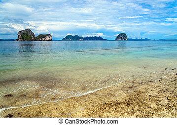 Stony Island, Trang Province, Thailand