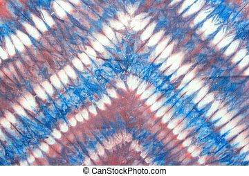 bright tie dyed cloth for background