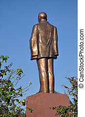 The statue of Ho Chi Minh, Vietnam - The statue of Ho Chi...