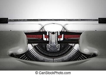 antigüedad, Máquina de escribir