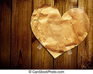 Valentine background - Grunge valentine background with...
