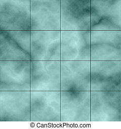 Marble texture background with grid lines.