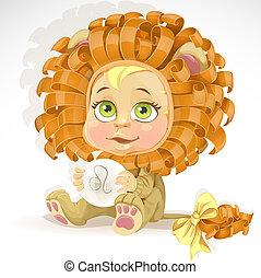 Baby zodiac - sign Leo