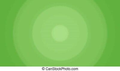 Circle loop Green