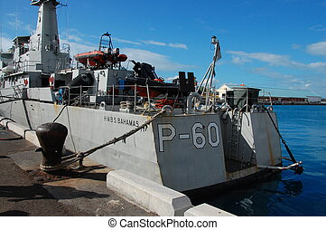 P-60 - Bahamas Navy - One of 2 ships in the Bahamian Navy...