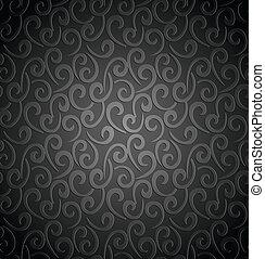 Seamless swirly background