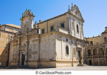 Duomo Church Lecce Puglia Italy