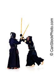kendo, combattenti