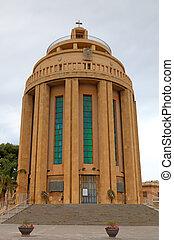 Modern Catholic Church in Syracusa.