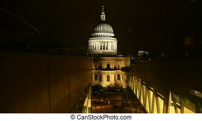 St Paul Elevator View - A descending view of St Pauls...