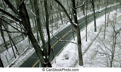 Round Winter Road