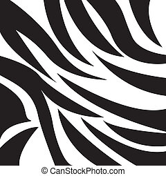 animal design over zebra skin background vector illustration...