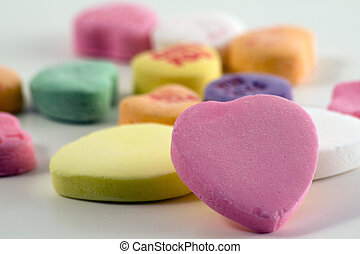 Valentine\\\'s heart candy - Valentine\\\'s day candy hearts...