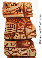 Maya, Escultura