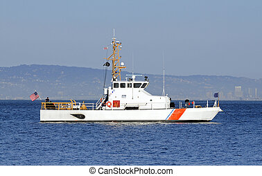 US Coast Guard anchored in the bay - Aug 28th 2008 : San...
