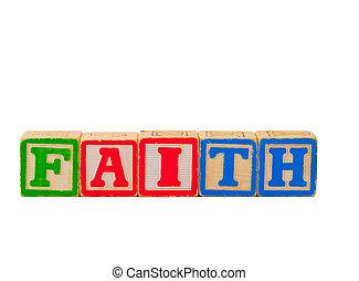 Faith Letter Blocks 1
