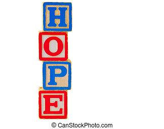 Hope Letter Blocks 2