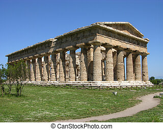 Greek temple - ancient Greek temple