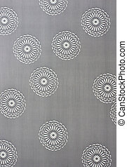Abstract of circle pattern on textile