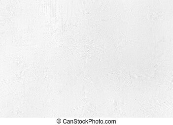 White plaster texture background with grainy detail and...