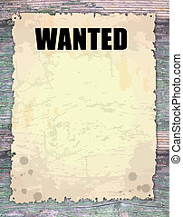 Wanted - Antique page - wanted - vintage wanted poster on...