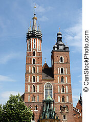 St.Mary's Basilica or Mariacki Church