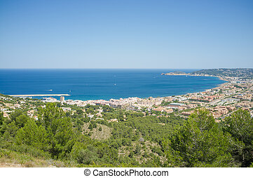 Javea - View over Javea bay, a popular Mediterranean resort