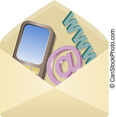 icon for contact info