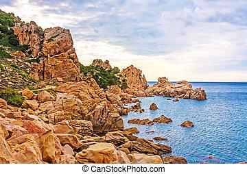 Costa Paradiso, Sardinia - Costa Paradiso, rocky landscape -...