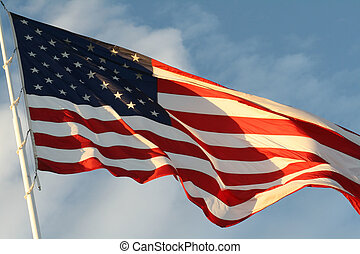 American Flag - Flying the flag