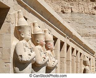 Details of Hatshepsut Temple , Egypt