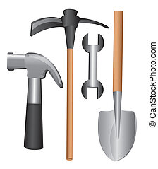 tools design over white background vector illustration