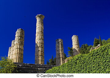 delphi - ancient delphi, greece