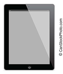 Apple ipad 4 vector illustration eps 10