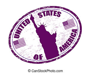 United states of America stamp