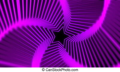 Fantasy Star Radiation purple blur - The star glow rotating...