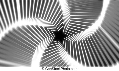 Star Radiation white blur - The star glow rotating animation...