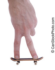 Fingerboard - Office entertainment. Fingerboard the reduced...